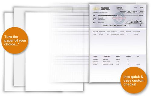 versacheck paper Buy instant checks: form 1000 business voucher instant checks: form 1000 business voucher - blue prestige 5000 sheets versacheck security check paper.