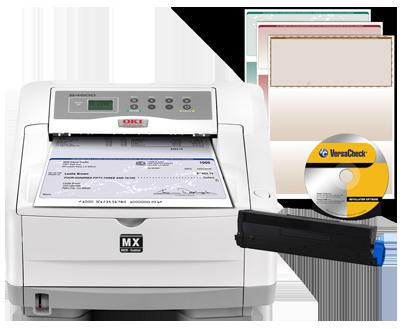OKIDATA B4600nMX - Secure MICR Solution