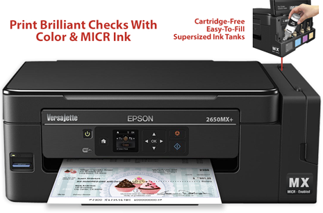 Versajette Et 2650mx Micr All In One Printer Versacheck