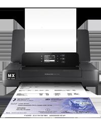 HP 200MX MICR Mobile Printer