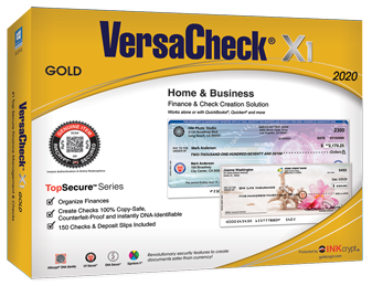 VersaCheck X1 Gold 2020 Business /& Personal Check Creation Software