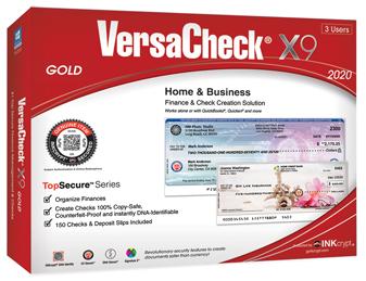 VersaCheck X9 3Users Finance /& Check Creation Software